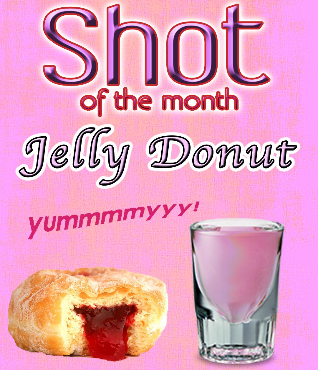 Jelly Donut Shot – Crave Design